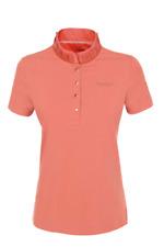Pikeur Sakina Premium Poloshirt Salmone Donna