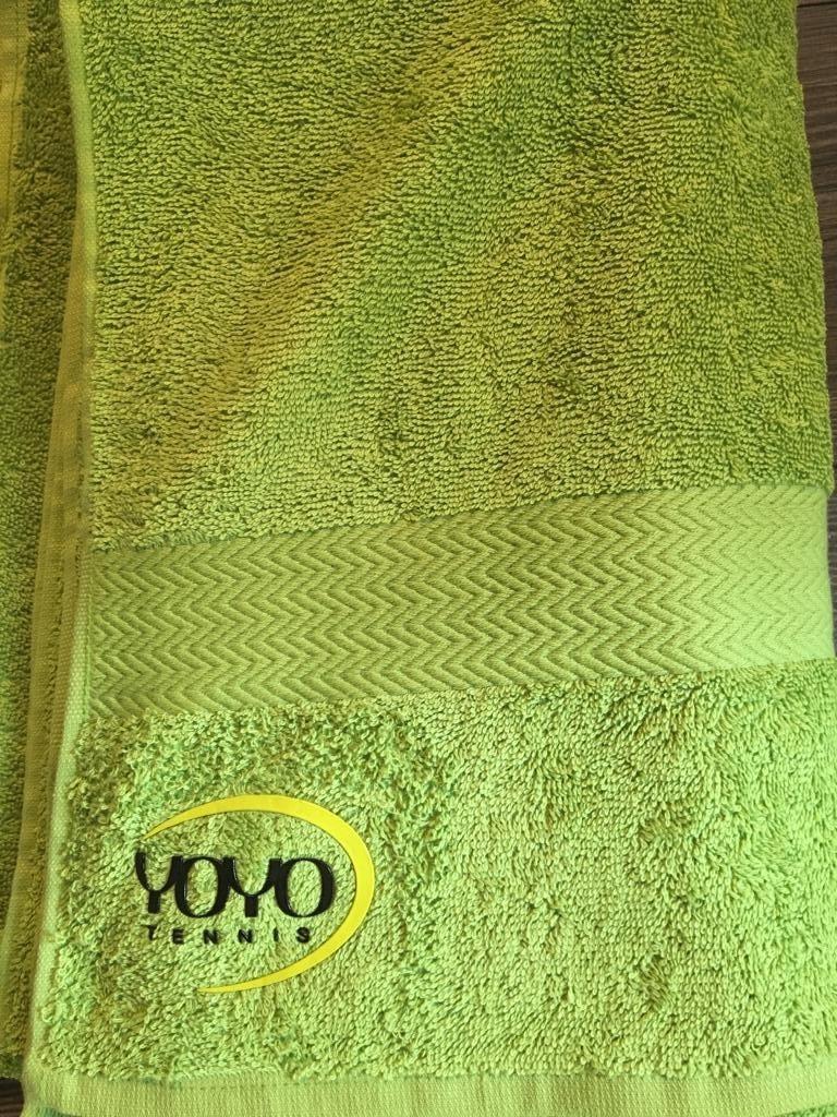 YOYO-TENNIS Asciugamano Verde (90x150 cm)