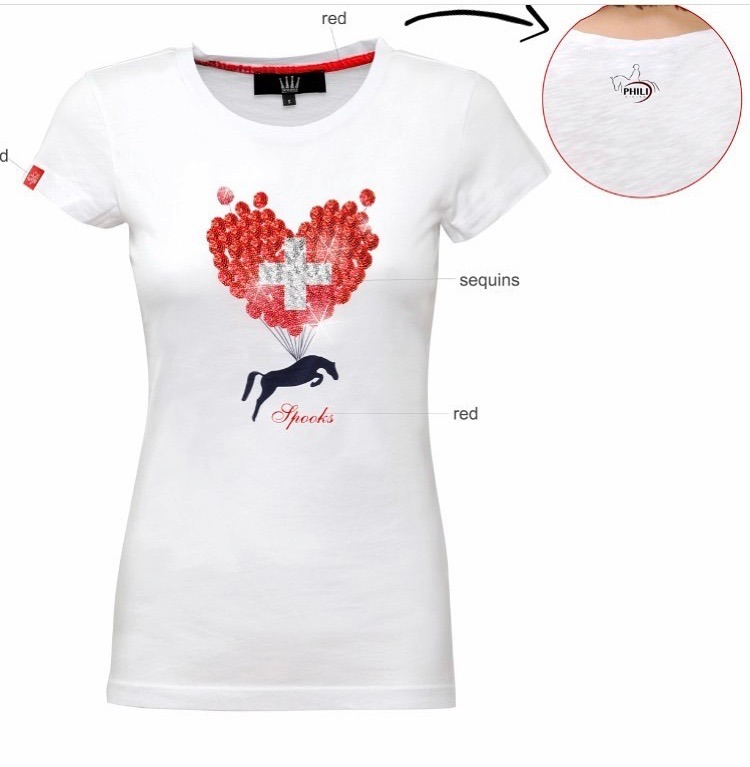 Spooks T-Shirt Go Swiss Bianca 1