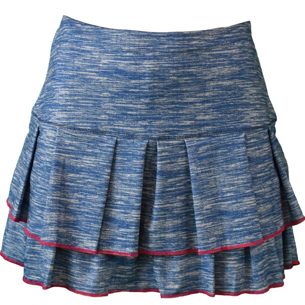 Lucky In Love Long Static Skirt Blu Donna 1