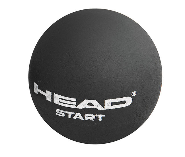 Head Start Squash Ball Nero