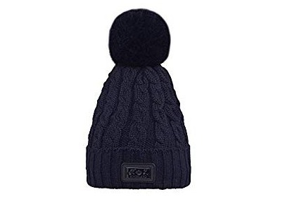 Kingsland Chap Ladies Knitted Hat Navy