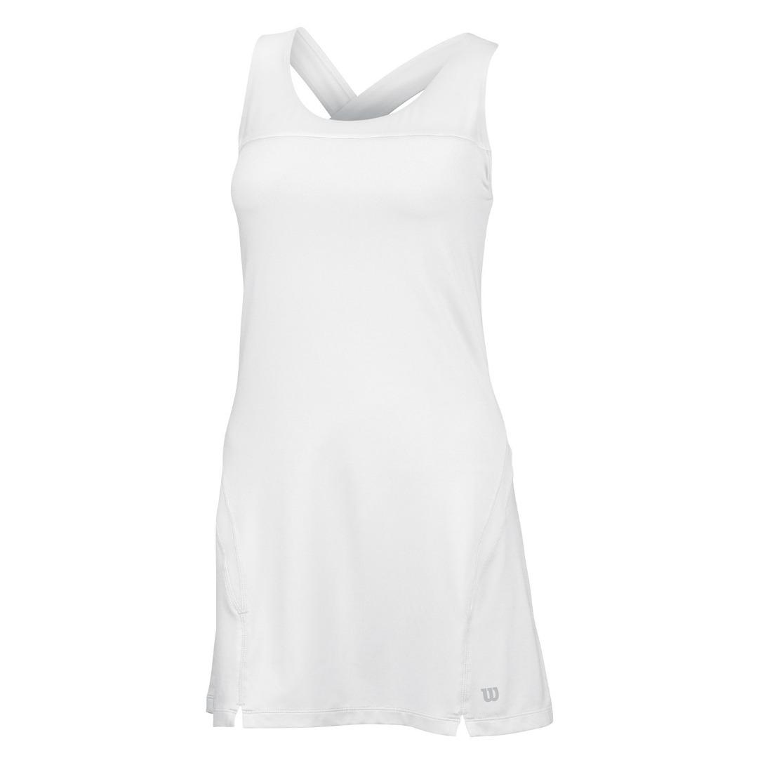 Wilson Team Vestito Bianco Donna