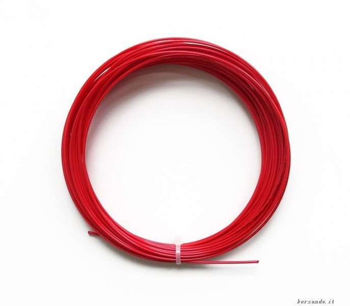 Yoyo Poly Hexaspin Twist Rosso 1.25 mm Sciolto 1