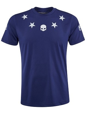 Hydrogen Tech T-Shirt Star Navy
