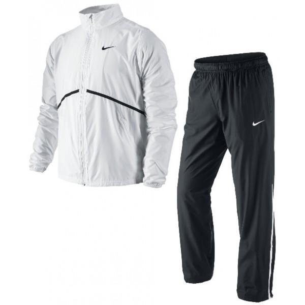 Nike Basic Woven Training Bianco-Nero Uomo