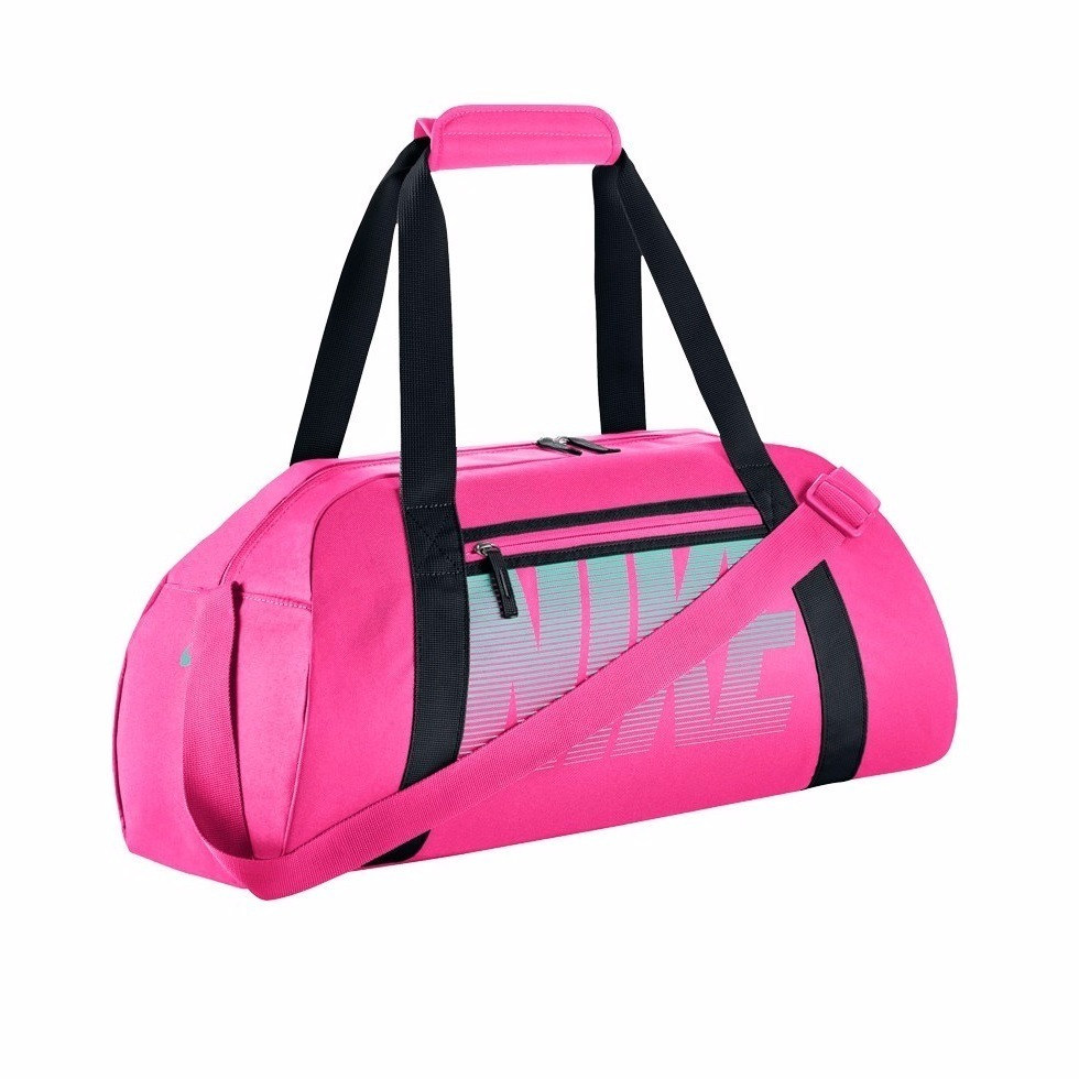 Nike Gym Club Borsa Nero-Rosa