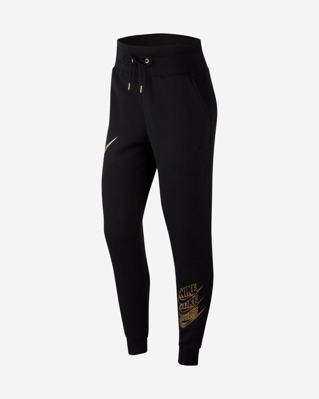 Nike Pant Shine Black-Gold Donna 1