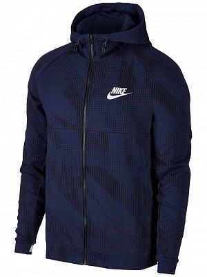 Nike Spring AV15 Camo Hoody Blu Uomo 1
