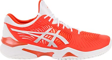 Asics Court FF Novak Clay Tomato White Uomo