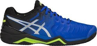 Asics Gel-Resolution 7 Clay Blu Nero Giallo Uomo 1