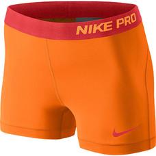 Nike Pro 3'' Shorty Arancione Donna 1