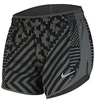 Nike Short Tempo Lux Camo Grigio Donna