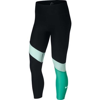 Nike Leggings Power Nero-Turchese Nero Donna 1