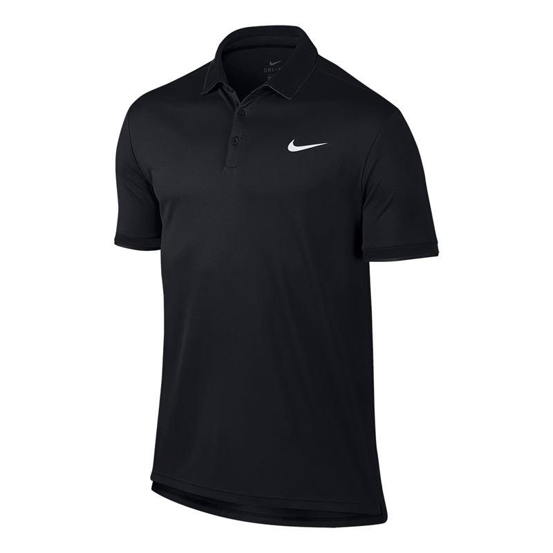 Nike Team Polo Black Uomo 1