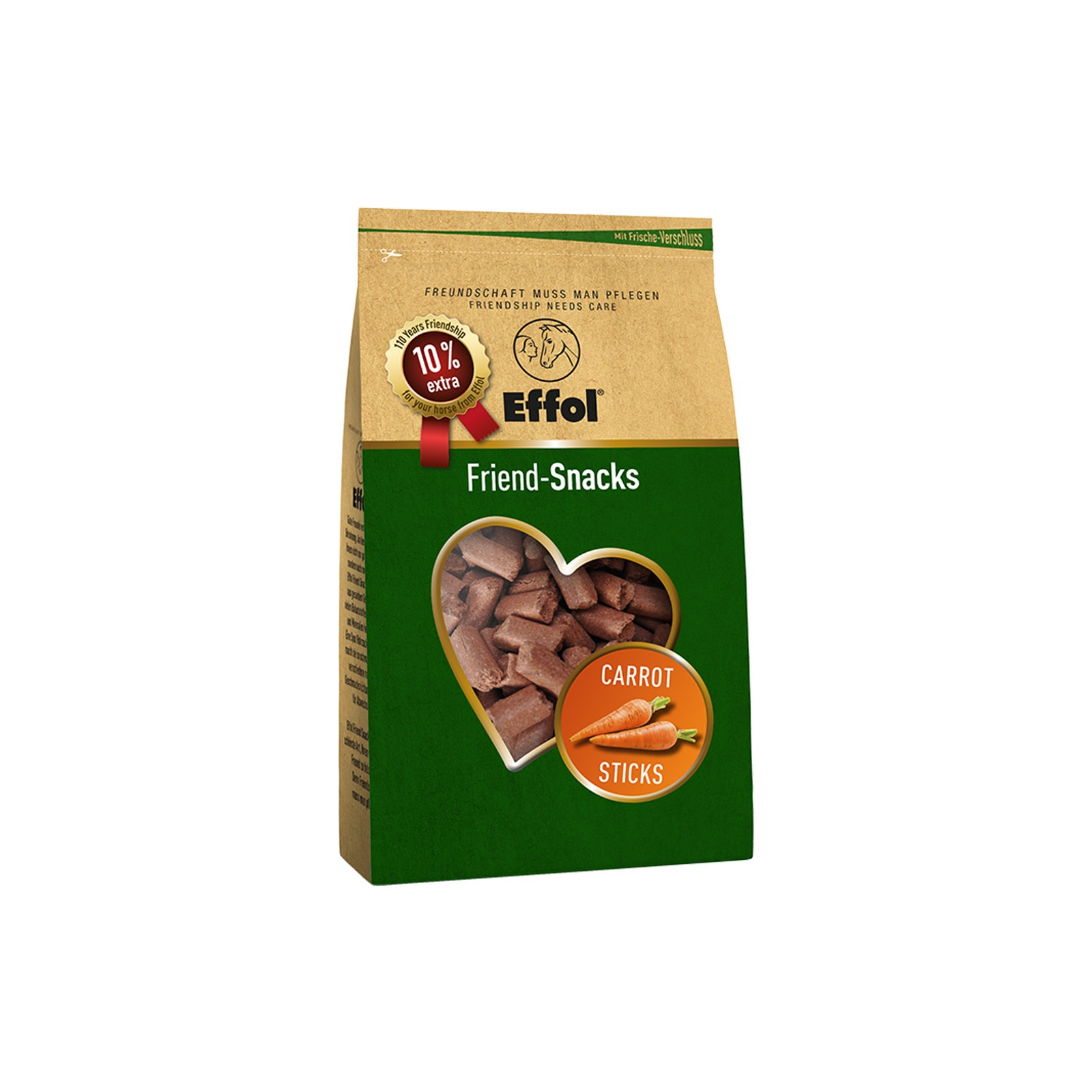 Effol Friend Snacks Original Sticks Carrot 1100 g