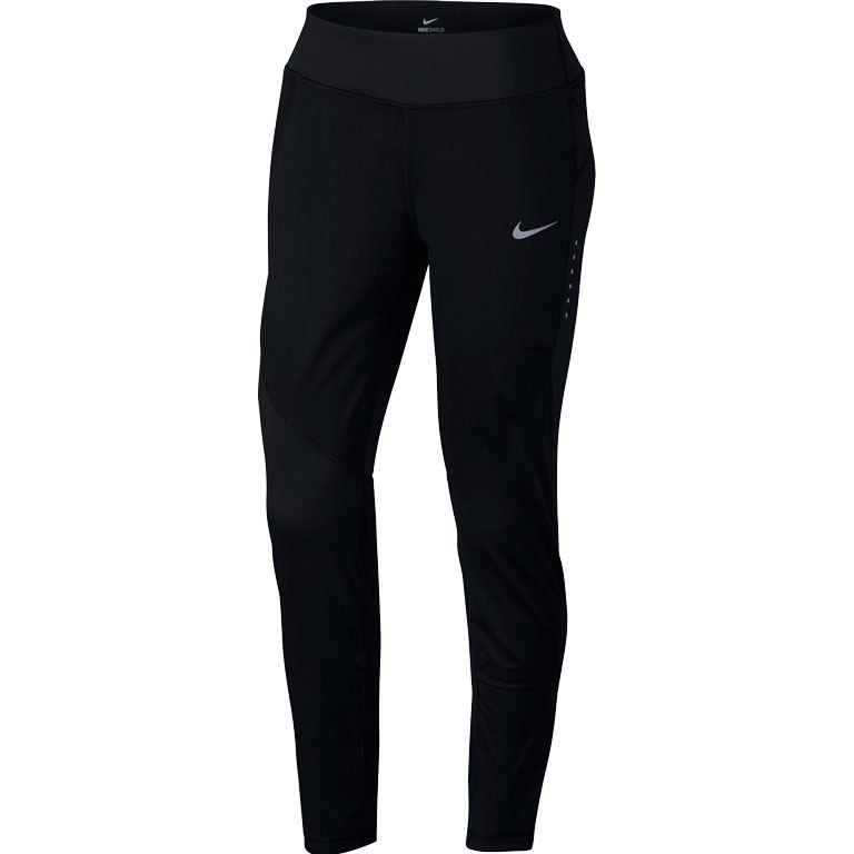 Nike Shield Running Pants Neri Donna 1