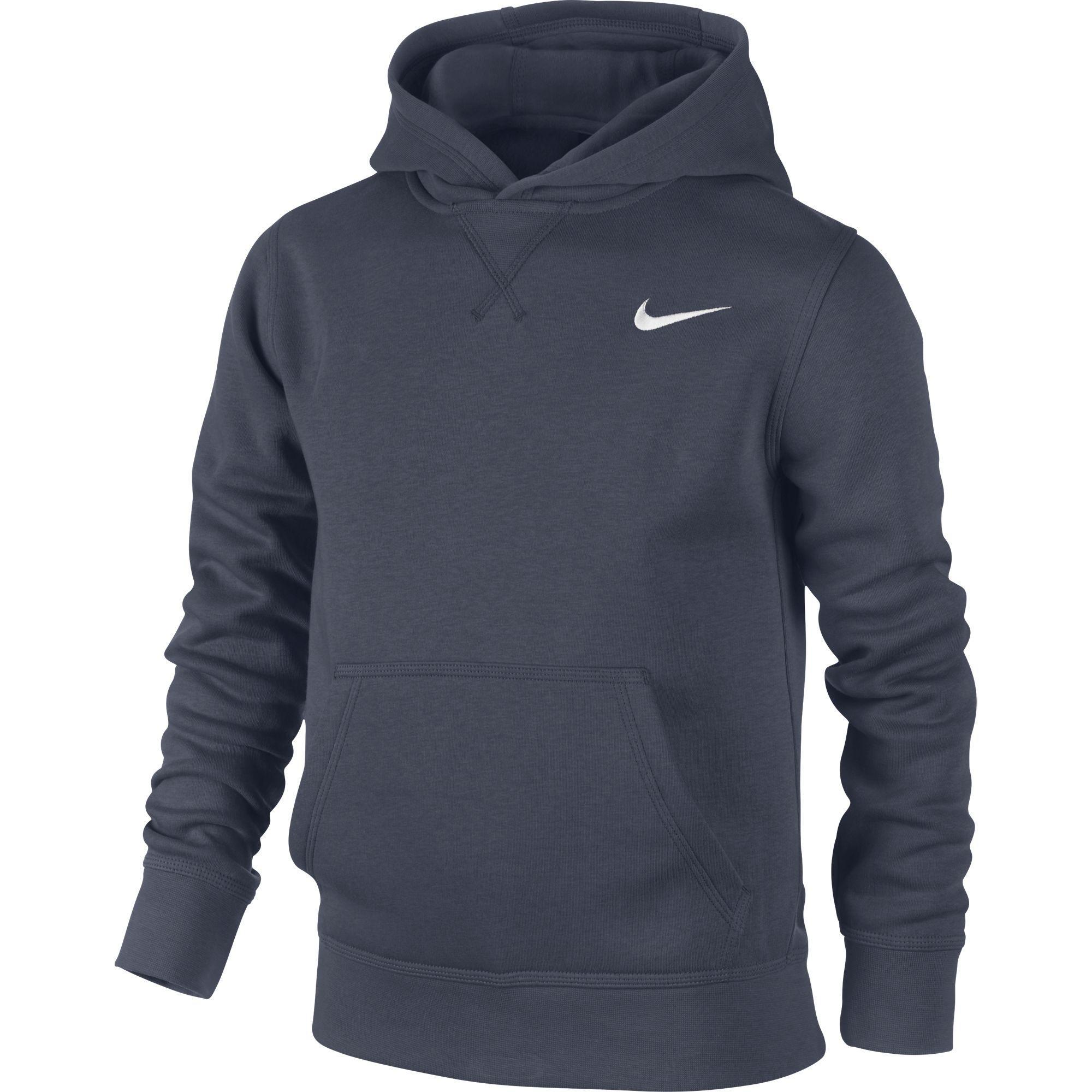 Nike Basic Hoodie Blu Bambino