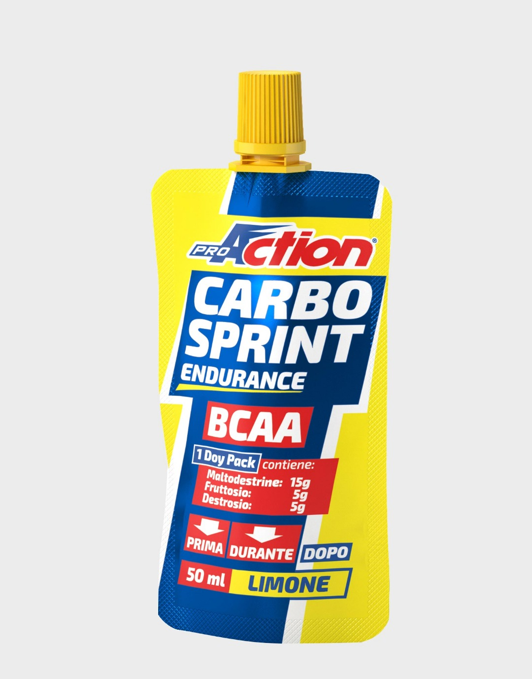 Pro Action Carbo Sprint Endurance BCAA Gel Limone
