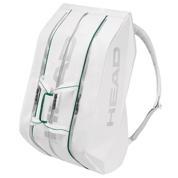 Head Wimbledon Monstercombi 12x Bianco-Verde