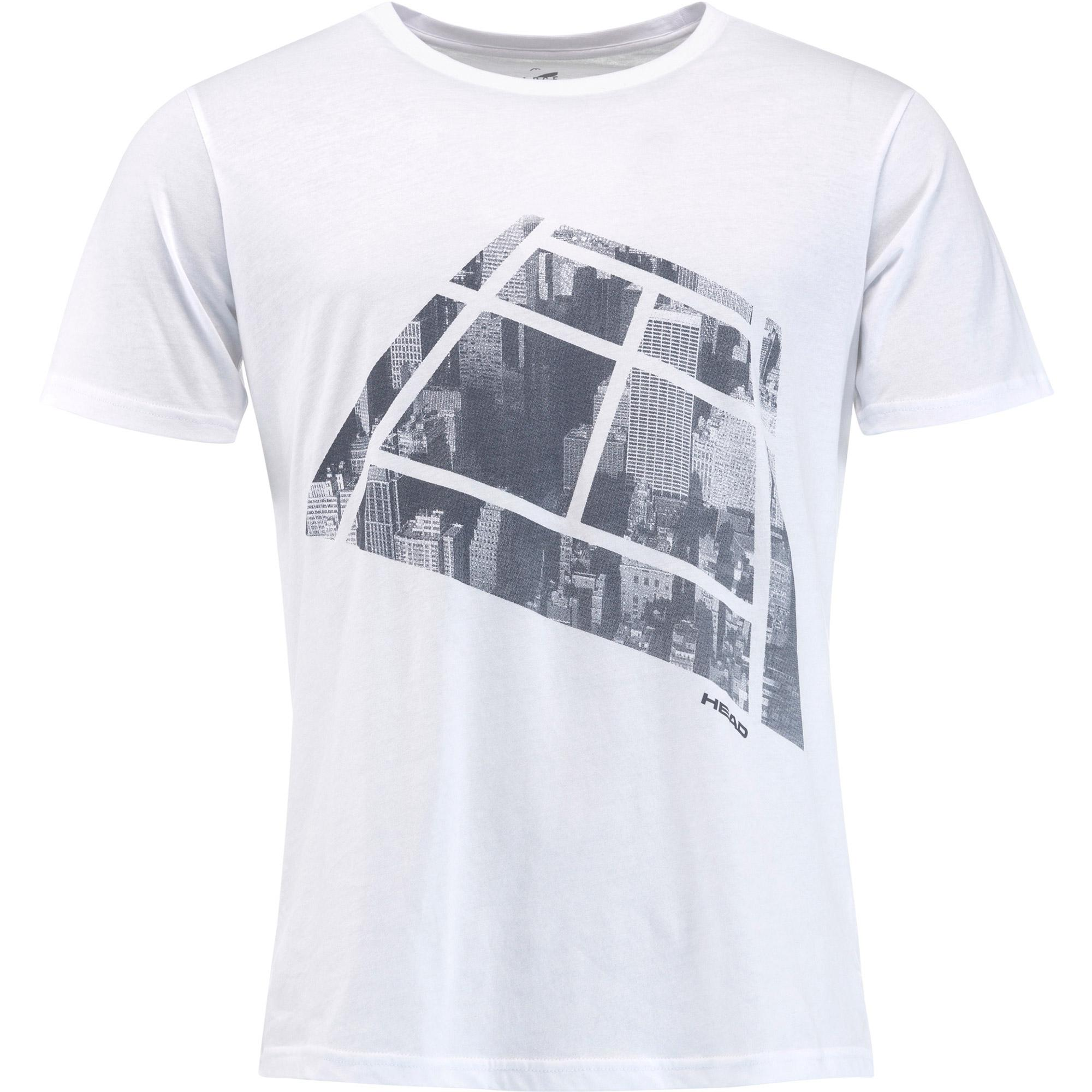 Head Addison T-Shirt Bianco Uomo 1
