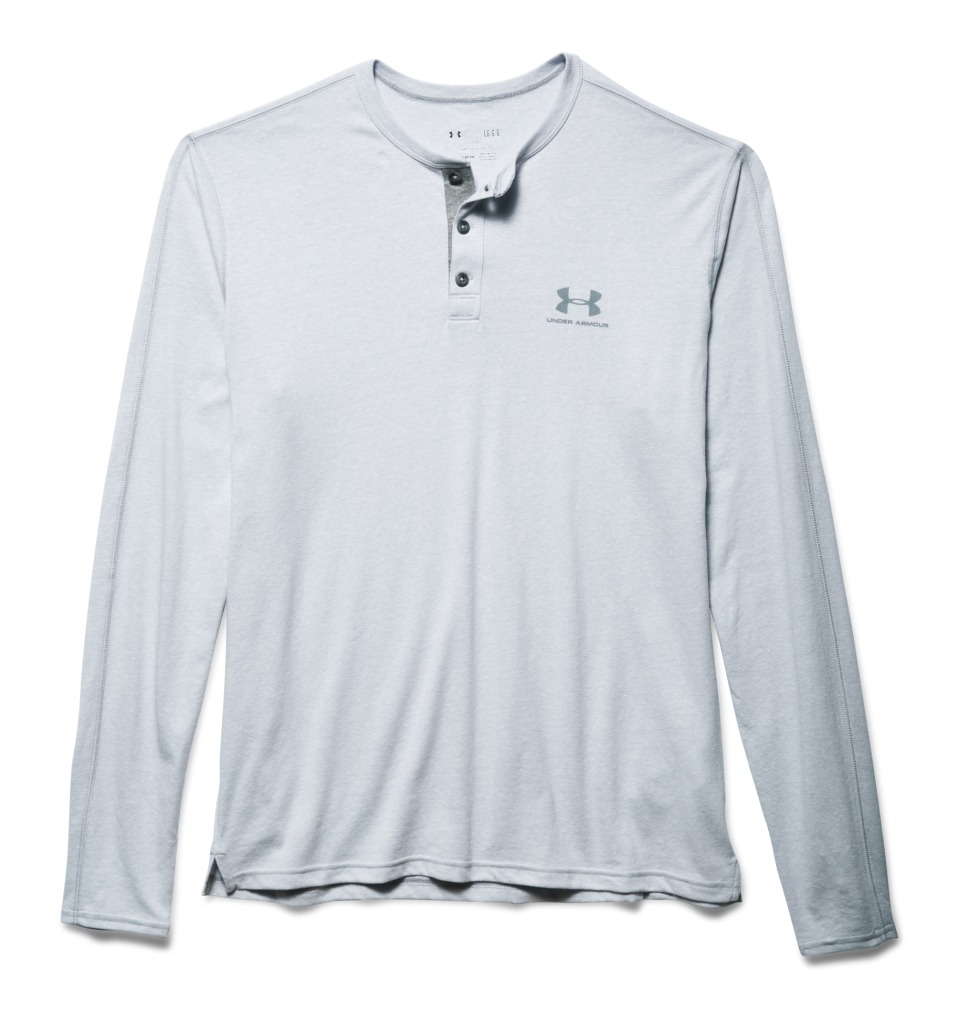 Under Armour Longsleeve T-Shirt Grigio Uomo