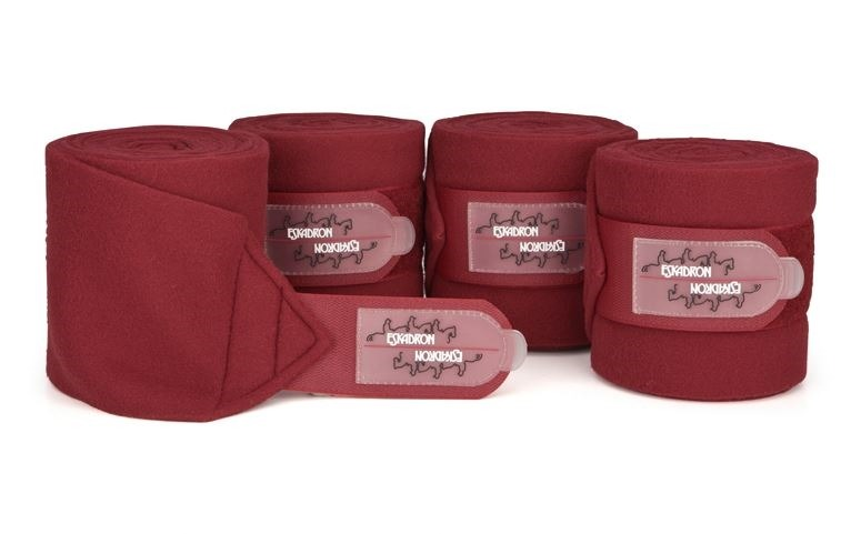 Eskadron Bandagen Fleece Bordeaux 1