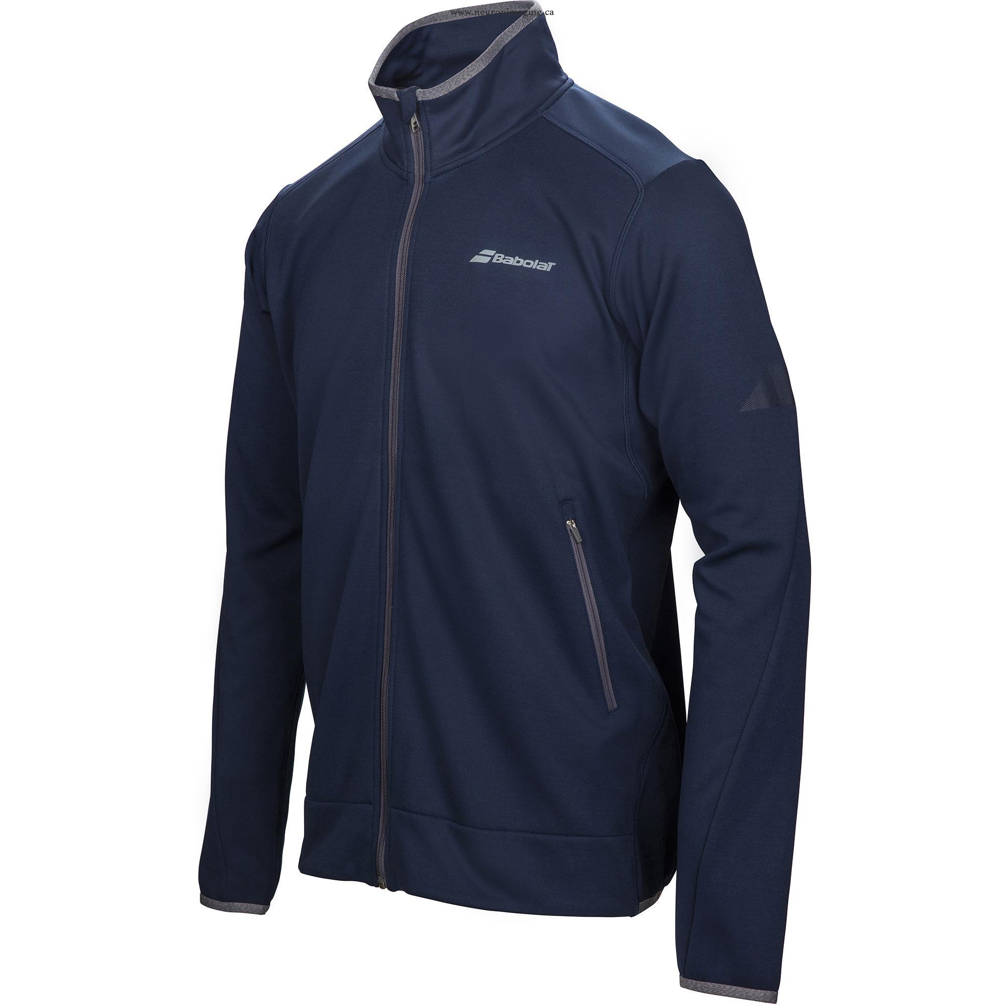 Babolat New Jacket Performance Blu Scuro Uomo