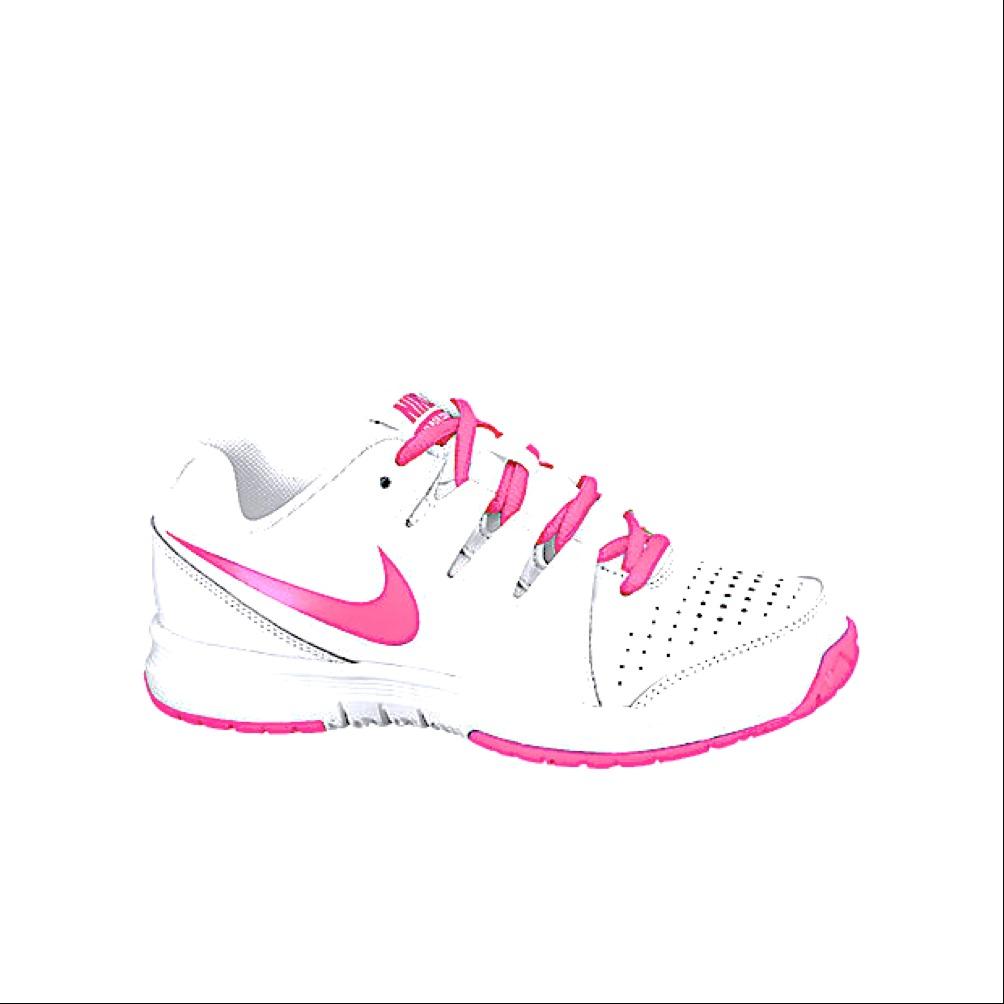 Nike Vapor Court Bianco-Pink Junior
