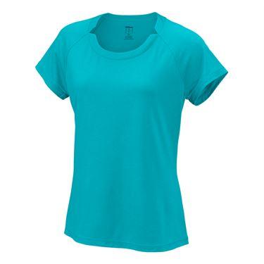 Wilson Condition Tee T-Shirt Azzurro Donna
