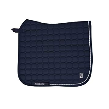 Kingsland Classic Dressage Saddle Pad Navy 1