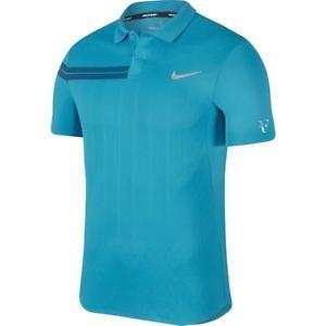 Nike RF Polo Summer ADV Blu Uomo 1