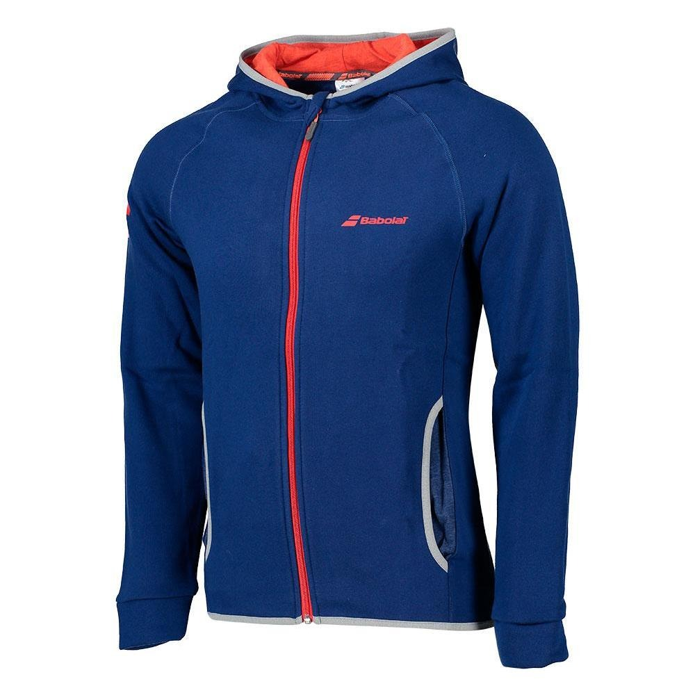 Babolat New Core Hood Sweat Diva Blu e Rossa Uomo