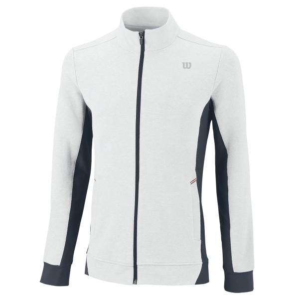Wilson Rush Knit Jacket Bianco-Grigio Carbone Uomo 1