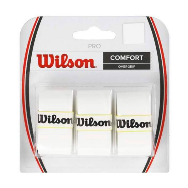 Wilson Pro Overgrip Bianco (3x) 1