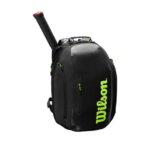 Wilson Super Tour Backpack Grigio-Verde