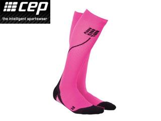 Cep Run Socks Pro Pink-Black Donna