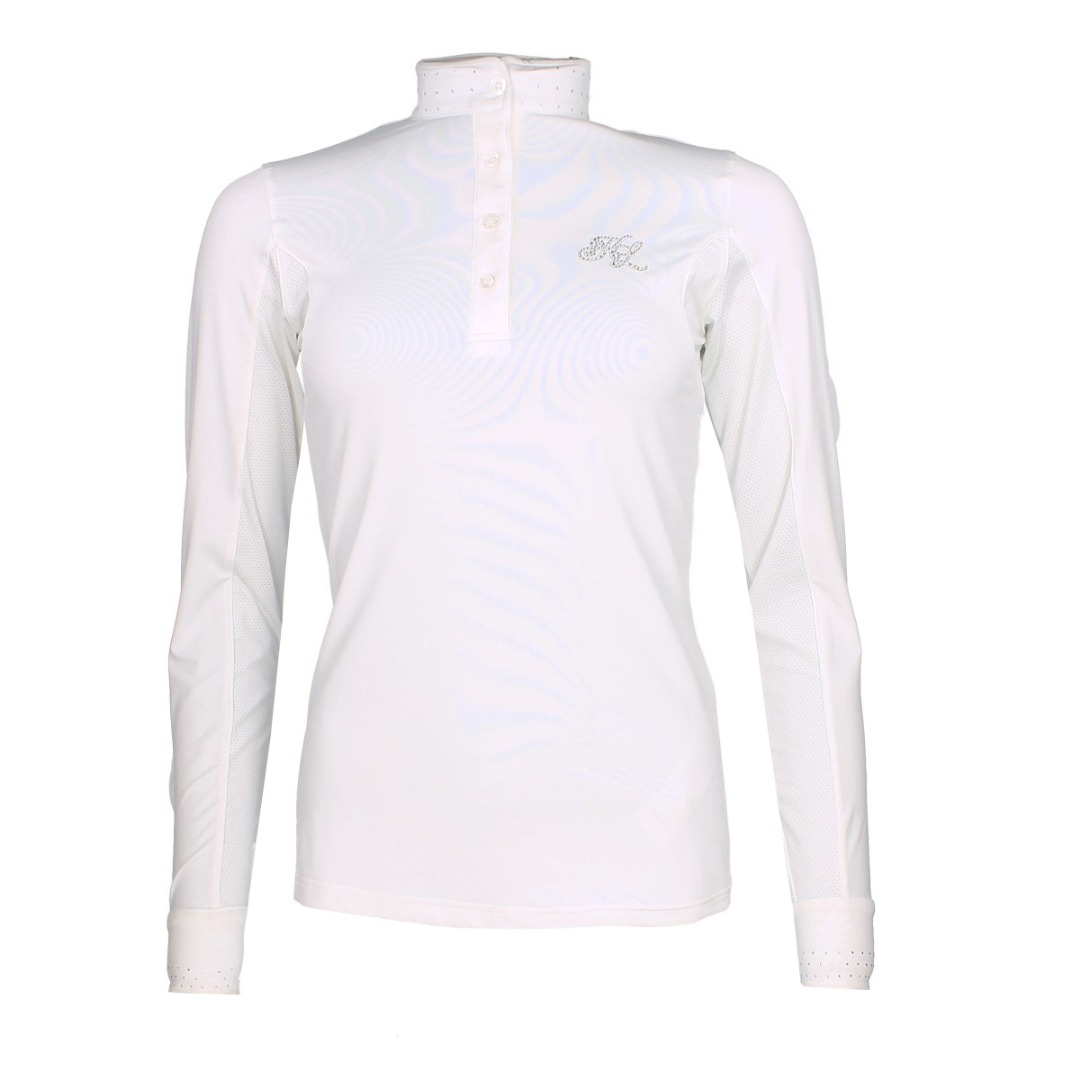 Kingsland Mimi ladies Show Shirt bianco 1