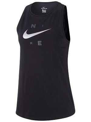 Nike Summer Dry Swoosh Tank Nero Donna 1