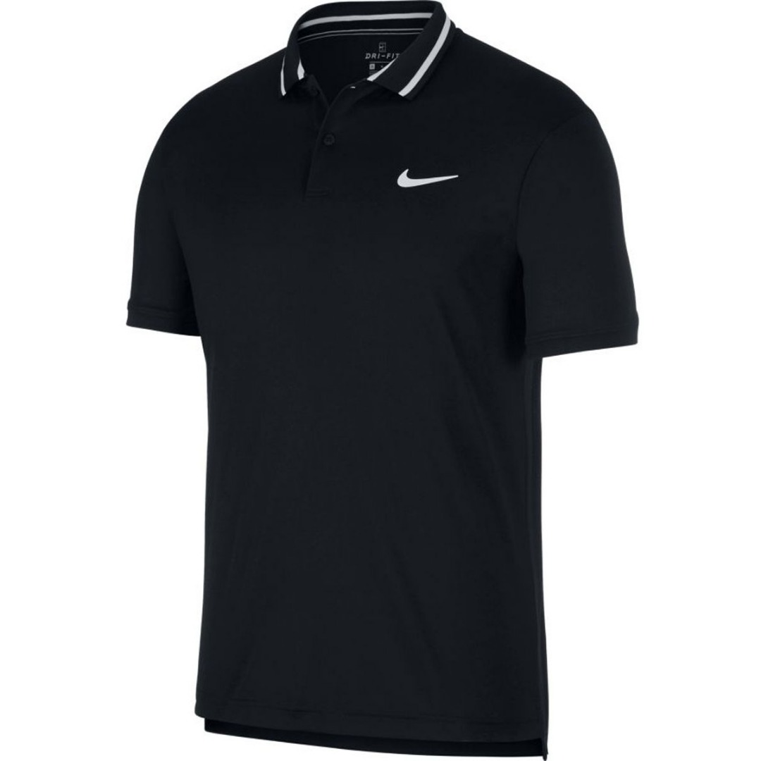 Nike Basic Team Polo Nero Uomo