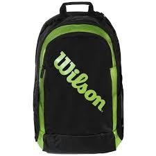Wilson Backpack 2 Nero-Verde 1