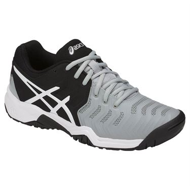 Asics Gel-Resolution 7 AC Nero-Grigio Junior