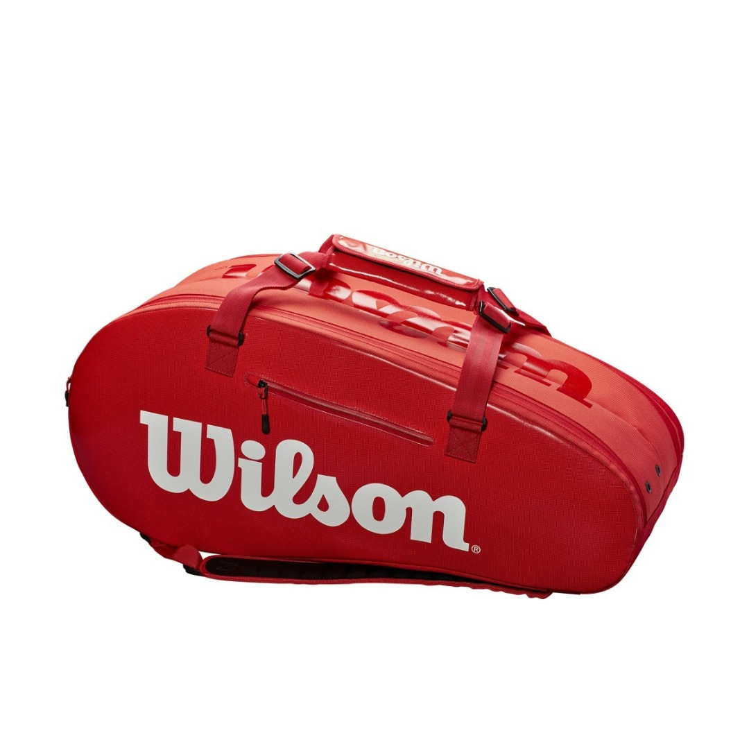Wilson Super Tour 2 Comp Large Bag Rosso 1