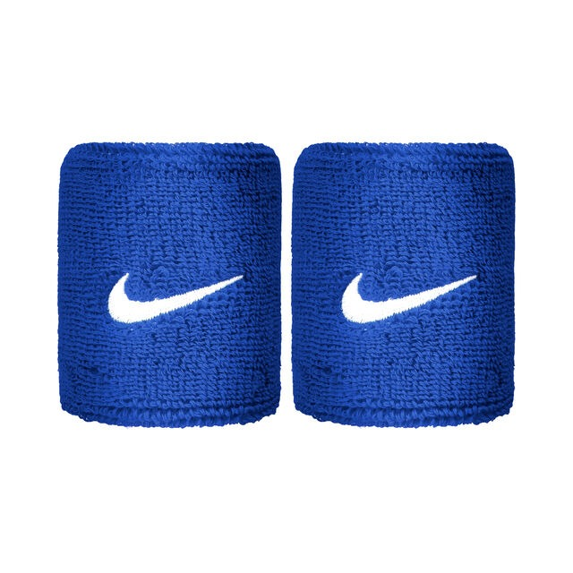 Nike Polsini Blu Logo Bianco (2x)