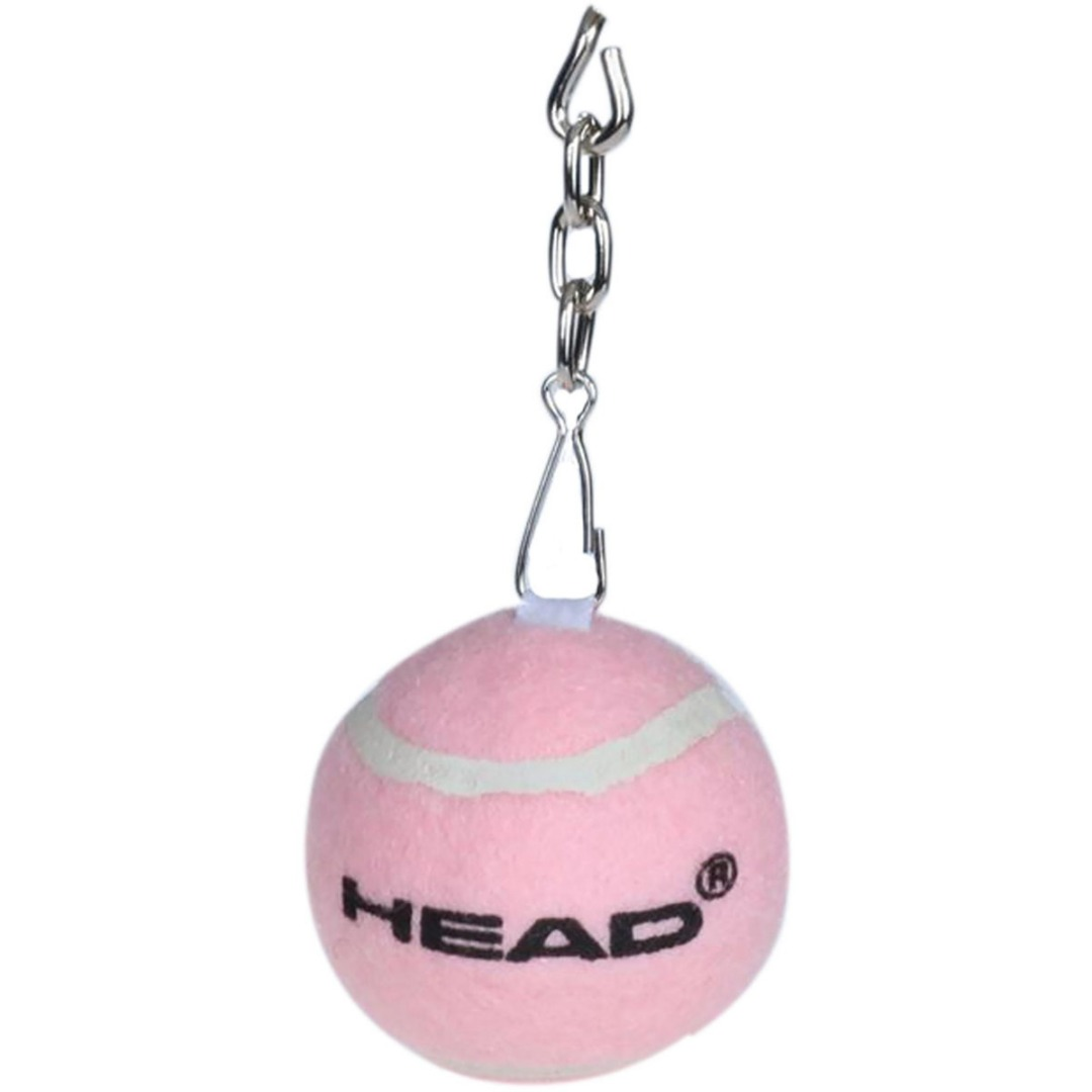 Head Mini Tennis Pallina Portachiavi Rosa