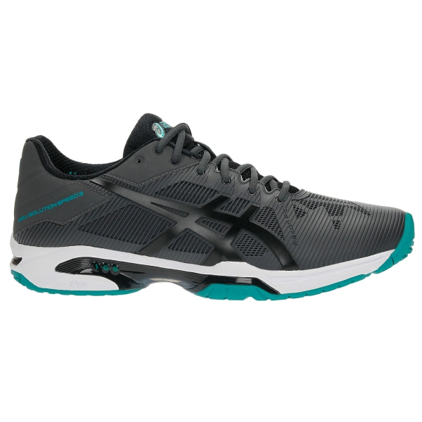 Asics Gel-Solution Speed 3 AC Grigio-Nero Uomo 1
