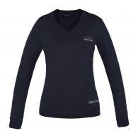 Kingsland Binky Knitted Sweater Charcoal Melange