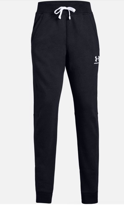 Under Armour Rival Solid Jogger Black Bambino