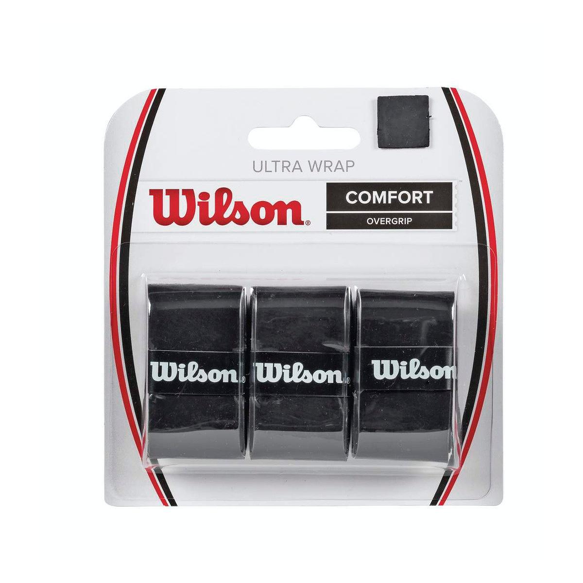 Wilson Pro Overgrip Neri (3x) 1