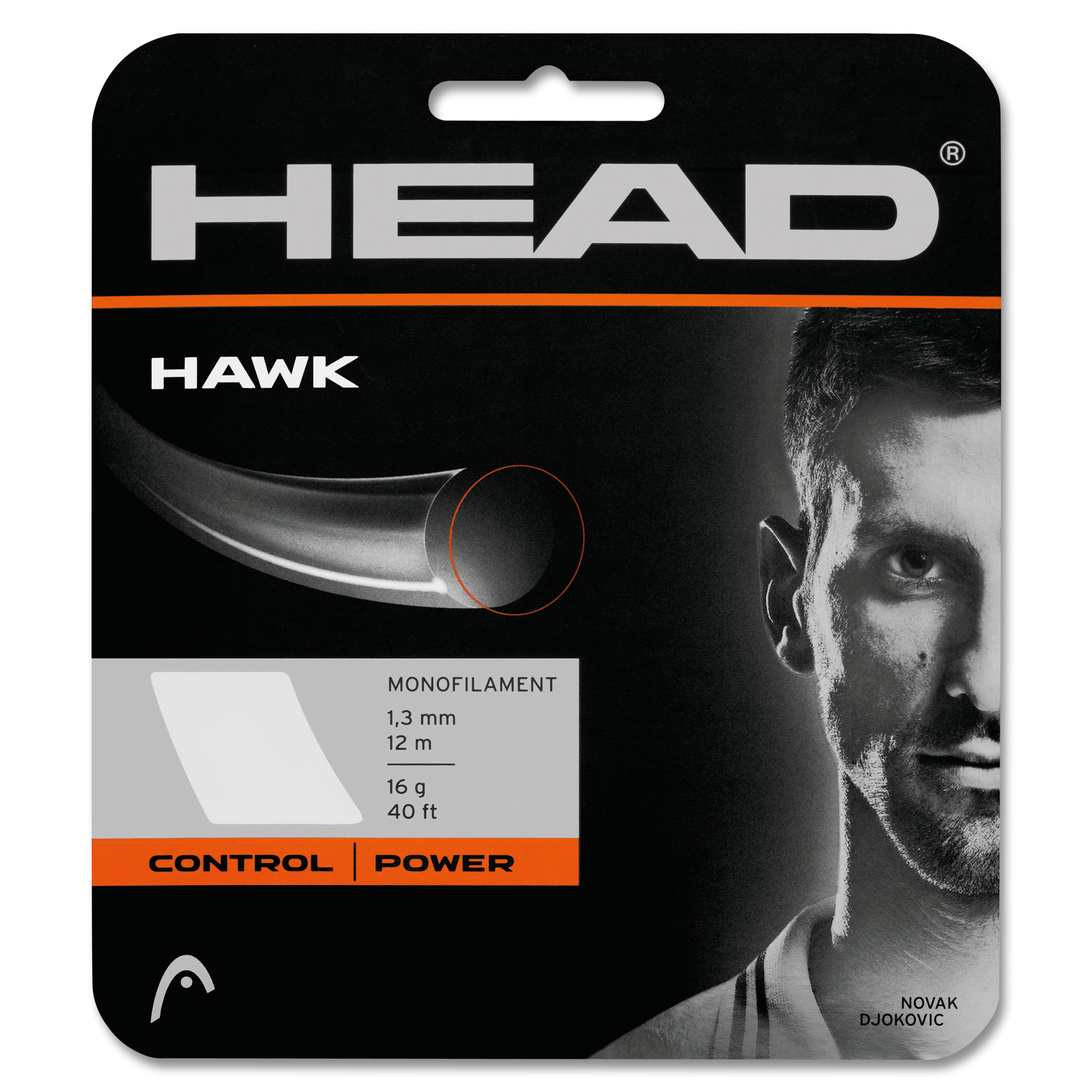 Head Hawk Bianco 1.25 mm 12 m
